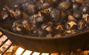 Tres maneras de asar castañas en casa