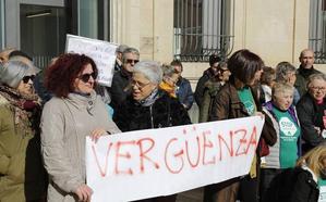 Palencia protesta contra el fallo del Supremo sobre las hipotecas