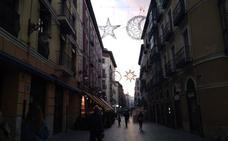 Comienza la instalación de las luces navideñas en Valladolid