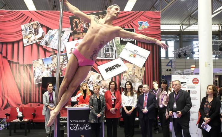 Inauguración de la feria Mercartes en Valladolid