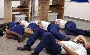 La imagen por la que varios tripulantes de Ryanair fueron despedidos