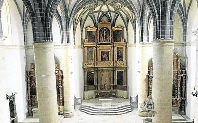 Concluyen las obras de la iglesia de San Martín, en Mota del Marqués