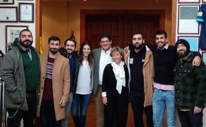 El cantante español Rayden inaugura el Club Boteros de Bodegas balbás en la Ribera