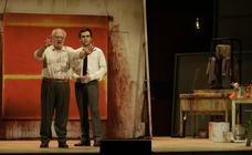 Ensayo de la obra 'Rojo' con Juan Echanove y Ricardo Gómez