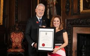 Almudena Alberca recoge su Master of Wine en Londres