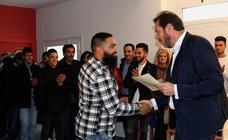 El alcalde de Valladolid visita el nuevo Centro Municipal Multiusos del Barrio España