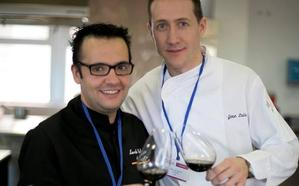 El chef José Luis Santos y el sumiller Marcelino Calvo, de El Ermitaño, finalistas de Copa Jerez