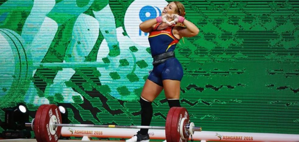 Lydia Valentín, doble campeona del mundo