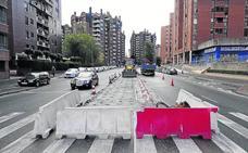 Urbanismo amplía la mediana de otro punto negro de Parquesol
