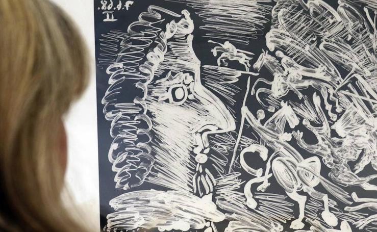 El Patio Herreriano de Valladolid acoge por primera vez en España los grabados 'Suite 347' de Picasso