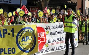 Los trabajadores de la AP-1, en huelga desde este viernes
