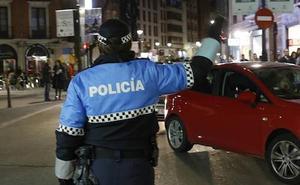 Detenido por conducir ebrio, en dirección prohibida y saltándose los semáforos en Valladolid