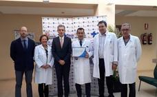 El servicio de Medicina Interna de Ávila recibe el certificado de excelencia