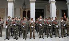 Ceremonia de inauguración del curso de la Academia de Artillería