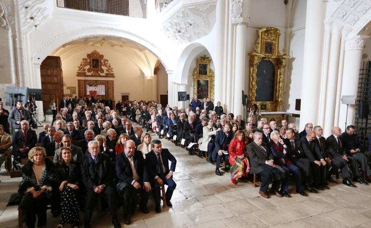Homenaje a los procuradores de Castilla y León