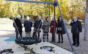El PSOE de Palencia lamenta el abandono del parque de la Carcavilla