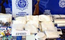 El matrimonio búlgaro detenido con 10 kilos de speed pacta penas que suman 10 años de cárcel y 500.000 euros de multa
