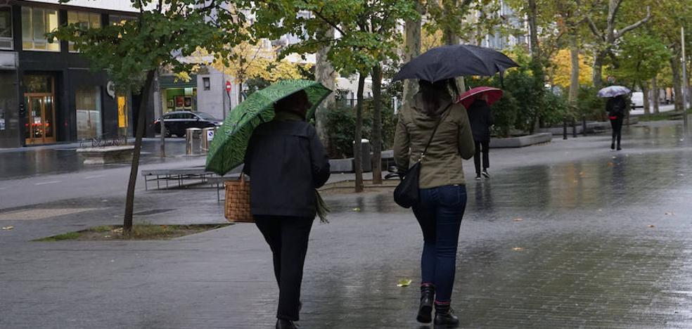 Fin de semana de lluvia en Valladolid como preludio del veranillo de San Martín