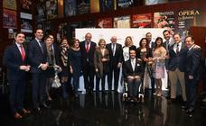 Asistentes al acto del Día de la Provincia, en el Teatro Zorrilla de Valladolid