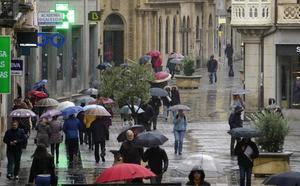 Toda la provincia estará mañana en alerta amarilla por lluvia