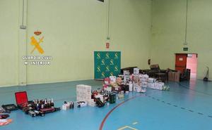 Pillados en El Espinar tras robar cestas navideñas y bebidas alcohólicas en Palencia