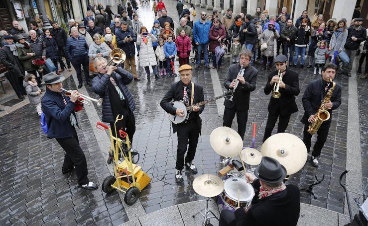 Jazz en las calles de Palencia