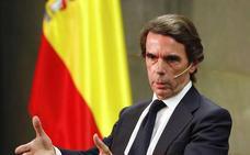 Aznar propone en 'El futuro es hoy' un microscopio con el que analizar España