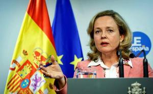 Calviño desliga la posición de la Abogacía del Estado sobre el procés de los Presupuestos