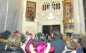 La catedral de Palencia divulga sus tres pinturas de estilo gótico