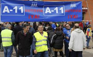 Aranda, Zamora y Soria se alían con Peñafiel para reclamar la A-11