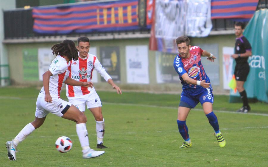 Ejercicio de riesgo controlado entre Segoviana y Zamora (1-1)