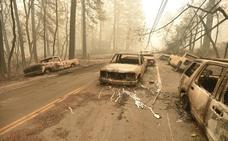 Las espectaculares imágenes de los incendios de California