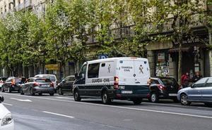 Once detenidos en una operación de la Guardia Civil contra el tráfico de drogas en Salamanca