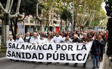 Más de 4.000 ciudadanos defienden la Sanidad Pública en la séptima Marea Blanca