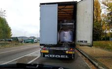 Multado un camión por entrar sin autorización en el centro de Valladolid