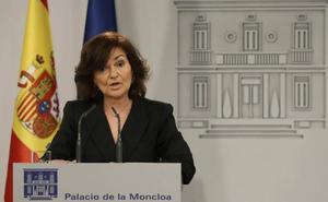 Calvo presiona a los independentistas para que no «boicoteen» los presupuestos
