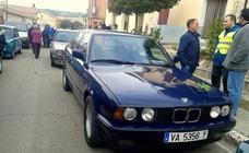 Concentración de coches clásicos en Cevico de la Torre
