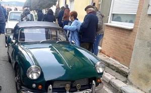 Los coches clásicos toman Cevico de la Torre