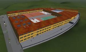 Así será el colegio de las Concepcionistas en El Sotillo, con capacidad para mil alumnos