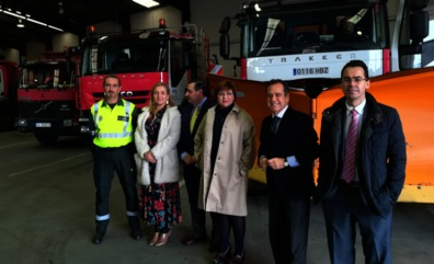 La Junta coordina el operativo de emergencias invernales en Valladolid