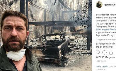 El incendio de California arrasa también las casas de los famosos en Malibú