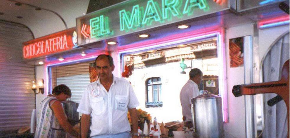 Muere el conocido churrero Luis Ángel Caballero 'El Mara'