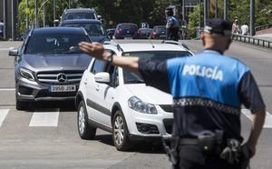 La policía detecta tres positivos en droga durante este lunes en Valladolid