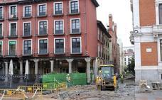Patrimonio da el visto bueno definitivo a la obra en el aparcamiento de la Plaza Mayor