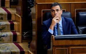 Moncloa pretende fletar un helicóptero y dos aviones desde Madrid para el viaje de Sánchez a Valladolid