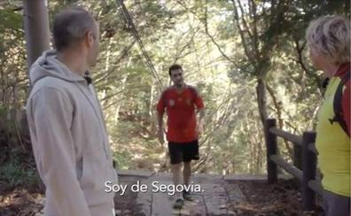 Un segoviano sorprende a Jesús Calleja e Iniesta en un bosque de Japón