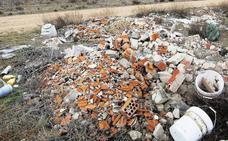La retirada de escombros llega a 110 pueblos de Valladolid y duplica el coste en dos años