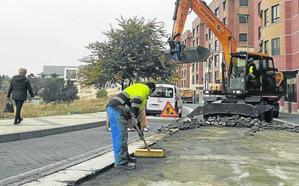 La sustitución del adoquinado por asfalto cortará durante un mes la calle Enrique Cubero