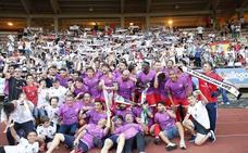 El Salamanca CF homenajeará a la plantilla del ascenso a Segunda B ante el Real Madrid Castilla