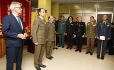La Subdelegación de Defensa de Palencia celebra su día en un acto lleno de simbolismo
